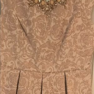 Eliza J Dresses - White fit and flare dress